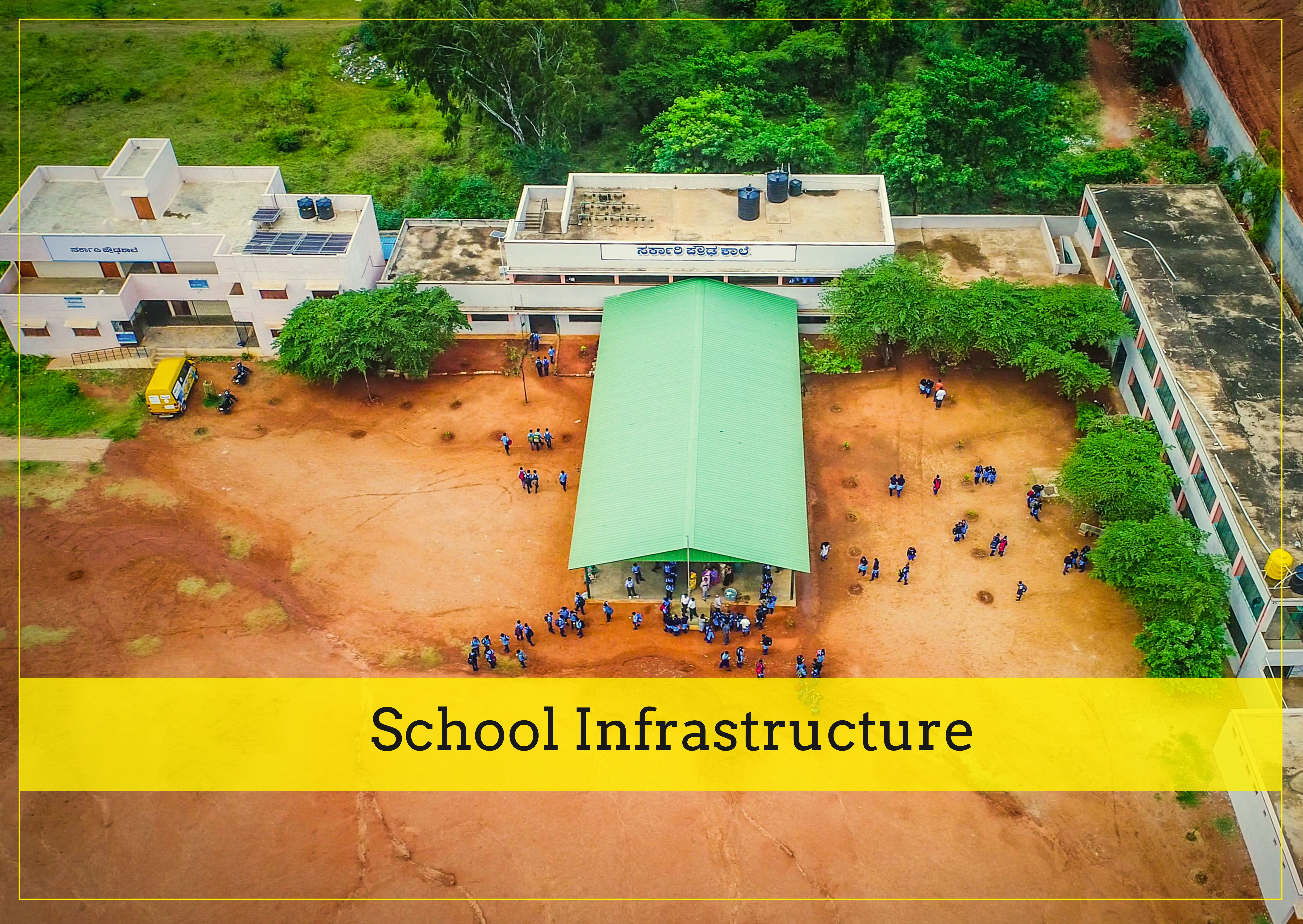 School-Infrastructure development by Bal Utsav